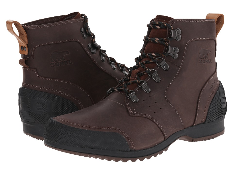 SOREL - Ankeny Mid Hiker (Tobacco/Black) Men