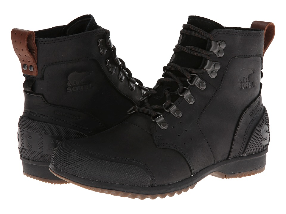 SOREL - Ankeny Mid Hiker (Black/Tobacco) Men