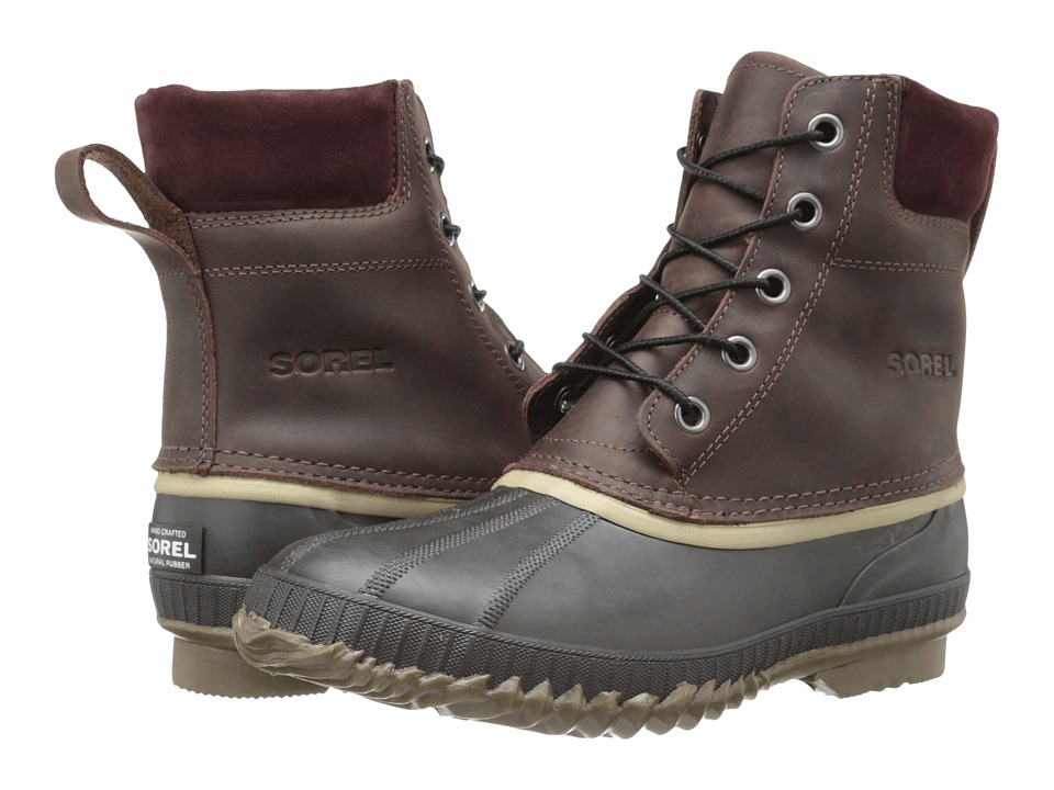 SOREL - Cheyanne Lace Full Grain (Madder Brown/Stout) Men