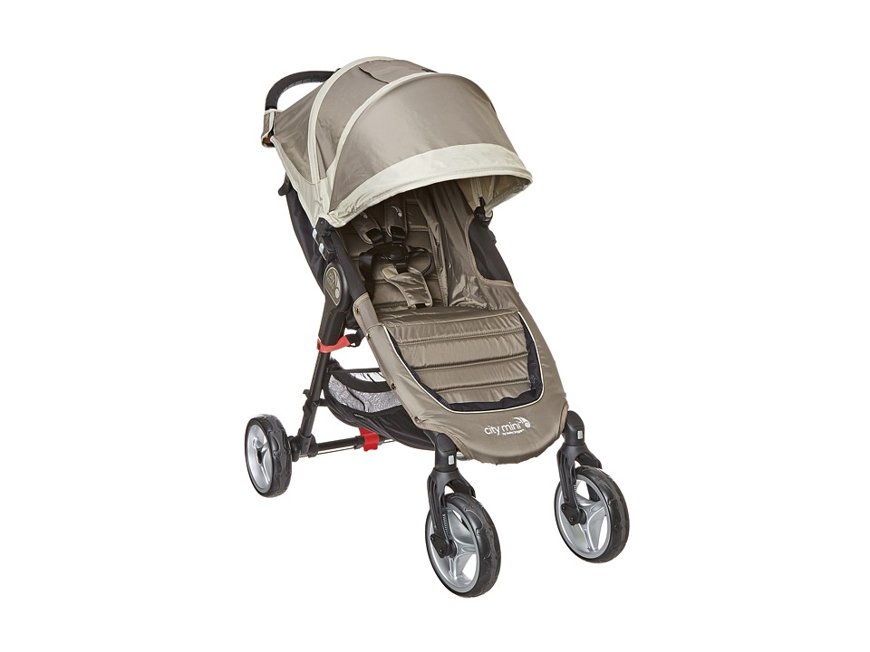 Baby Jogger 4 Wheel City Mini Sand/Stone Strollers Travel