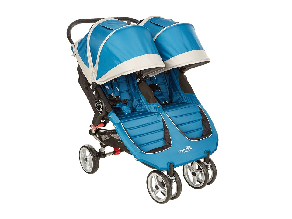 Baby Jogger City Mini Double Teal/Gray Strollers Travel