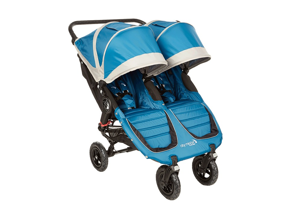 Baby Jogger City Mini GT Double Teal/Gray Strollers Travel