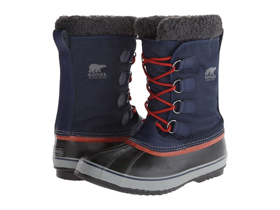 SOREL 1964 Pac Nylon Collegiate Navy/Grill Mens Shoes