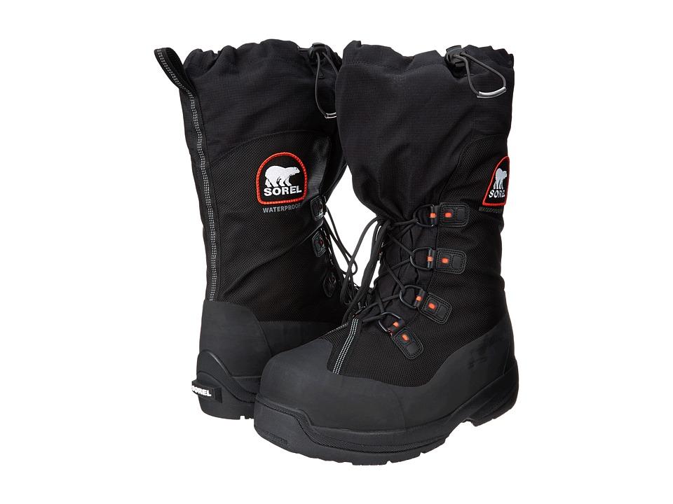 SOREL - Intrepid Explorertm XT (Black/Red Quartz) Mens Boots
