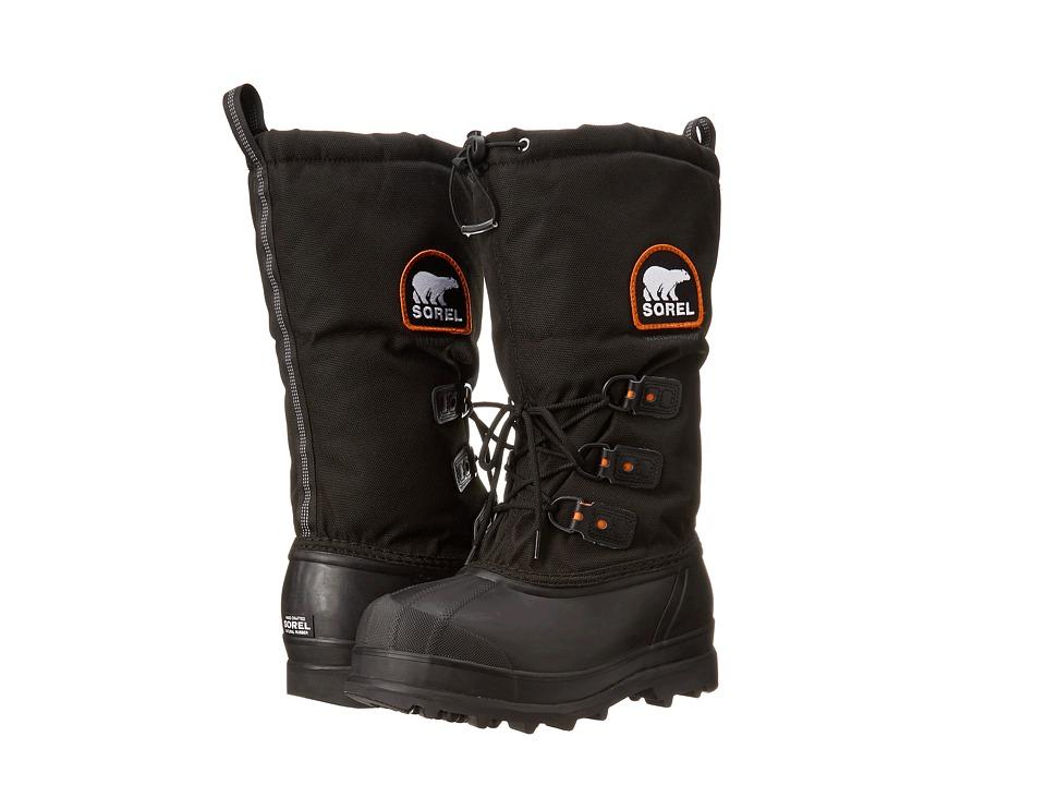 SOREL - Glaciertm XT (Black/Red Quartz) Mens Boots