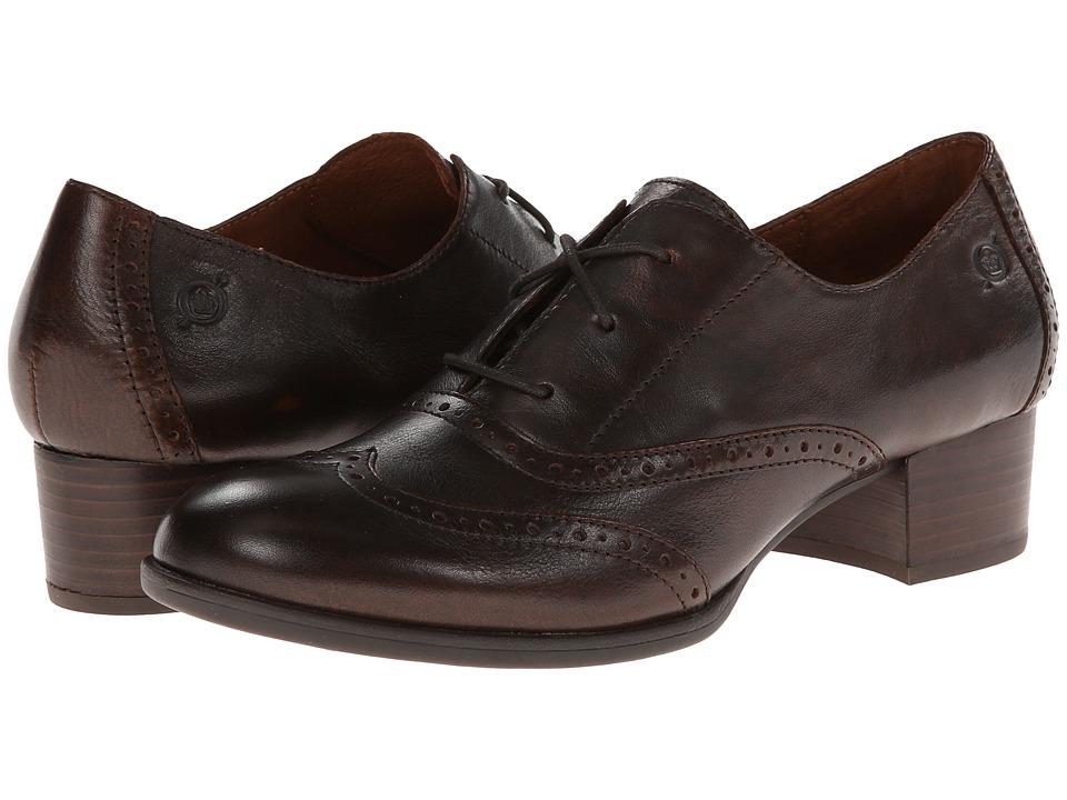 Born Naleigh (Cognac) Women's 1-2 inch heel Shoes