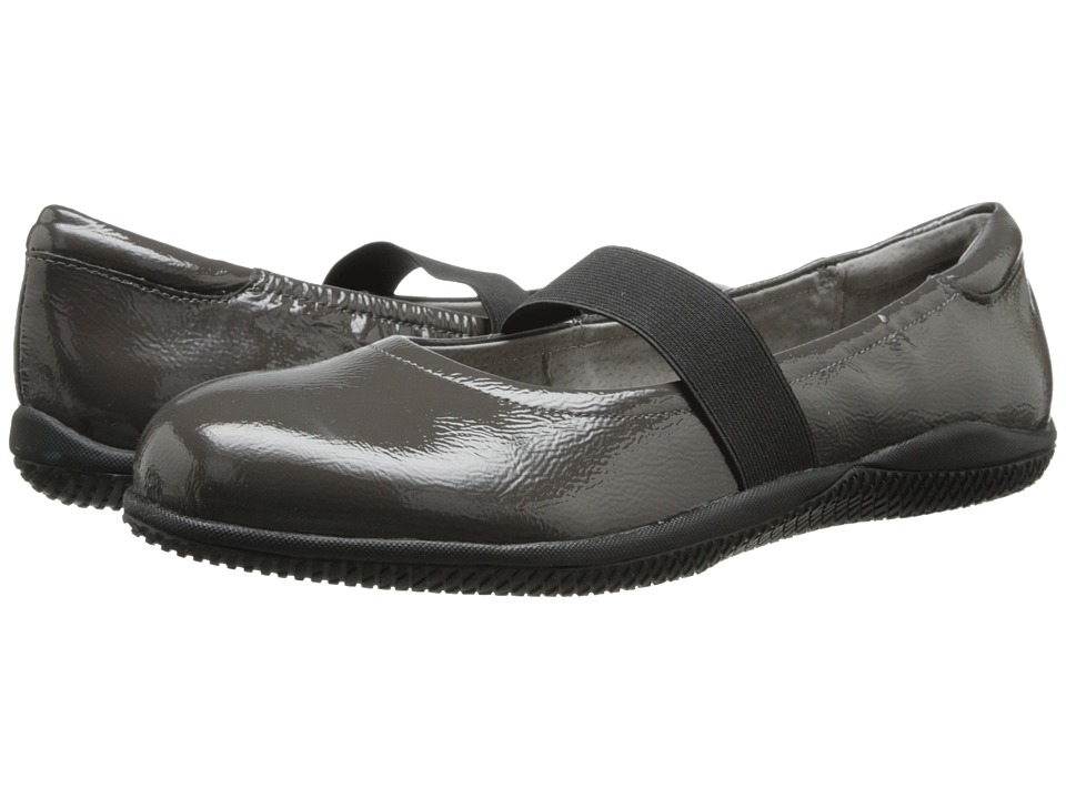 SoftWalk High Point (Dark Grey Crinkle Patent Leather) Women