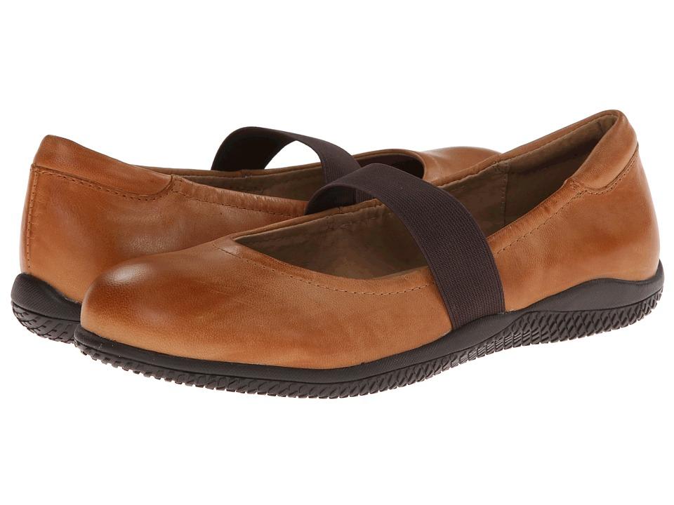 SoftWalk - High Point (Cognac Soft Dull Leather) Women