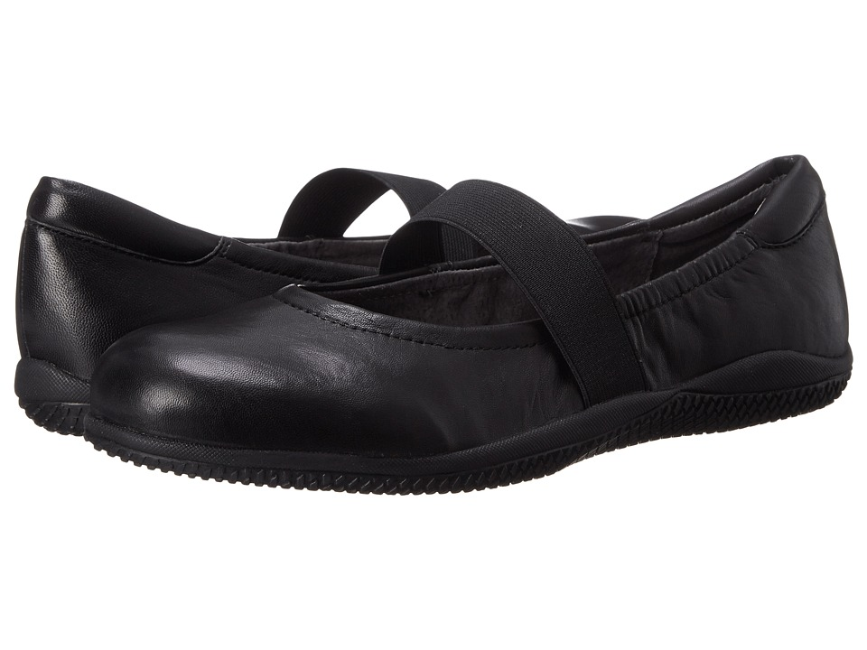 SoftWalk - High Point (Black Soft Nappa Leather) Women's  Shoes