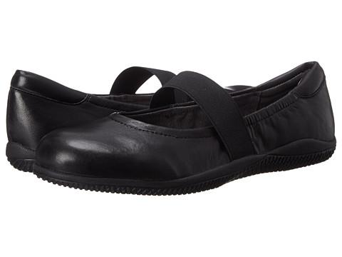 SoftWalk High Point - Black Soft Nappa Leather