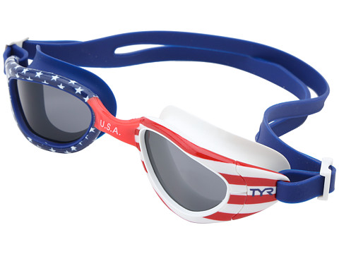 TYR Special Ops 2.0 Polarized Goggles - Red/Navy