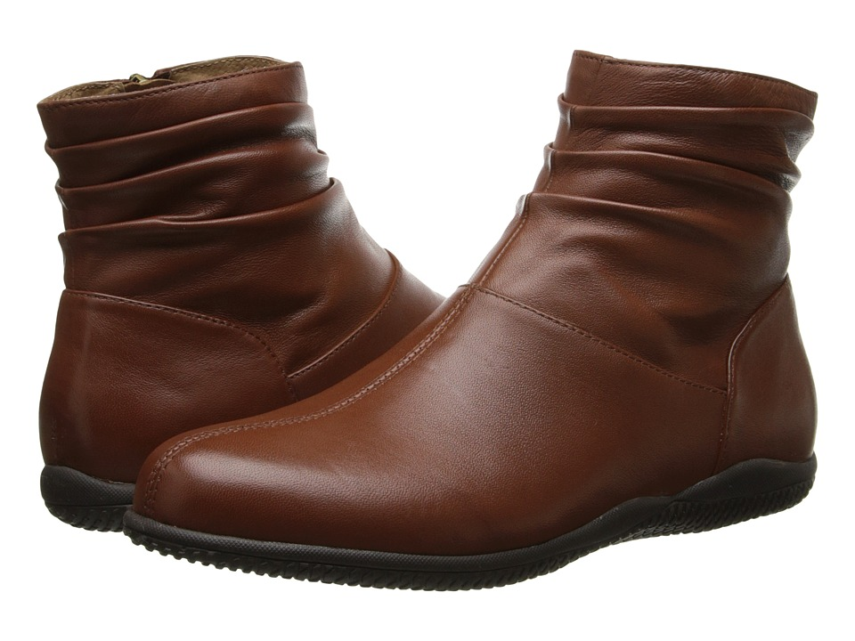 SoftWalk Hanover (Cognac Soft Nappa Leather) Women
