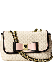 Betsey Johnson - Be My Honey Buns Flaover Shoulder