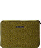 petunia pickle bottom - Embossed Carried Away Laptop Case