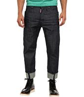 DSQUARED2 - Dark Crinkle Wash Workwear Jean