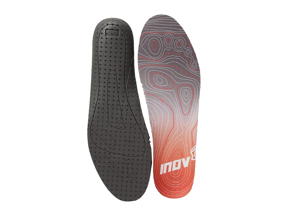 inov 8 3MM Footbed Black/Red Insoles Accessories Shoes