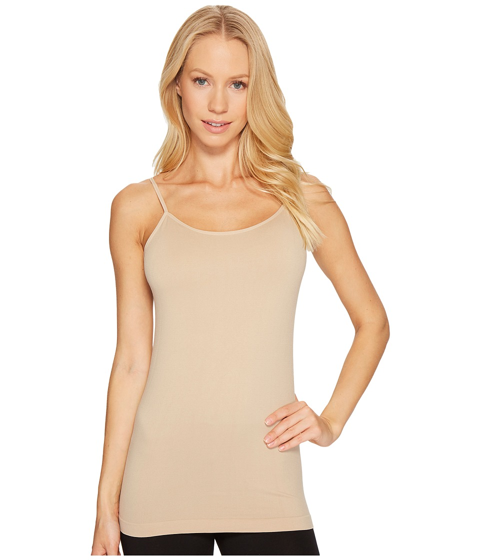 Coobie Cami w/ Shelf Bra Nude Womens Sleeveless