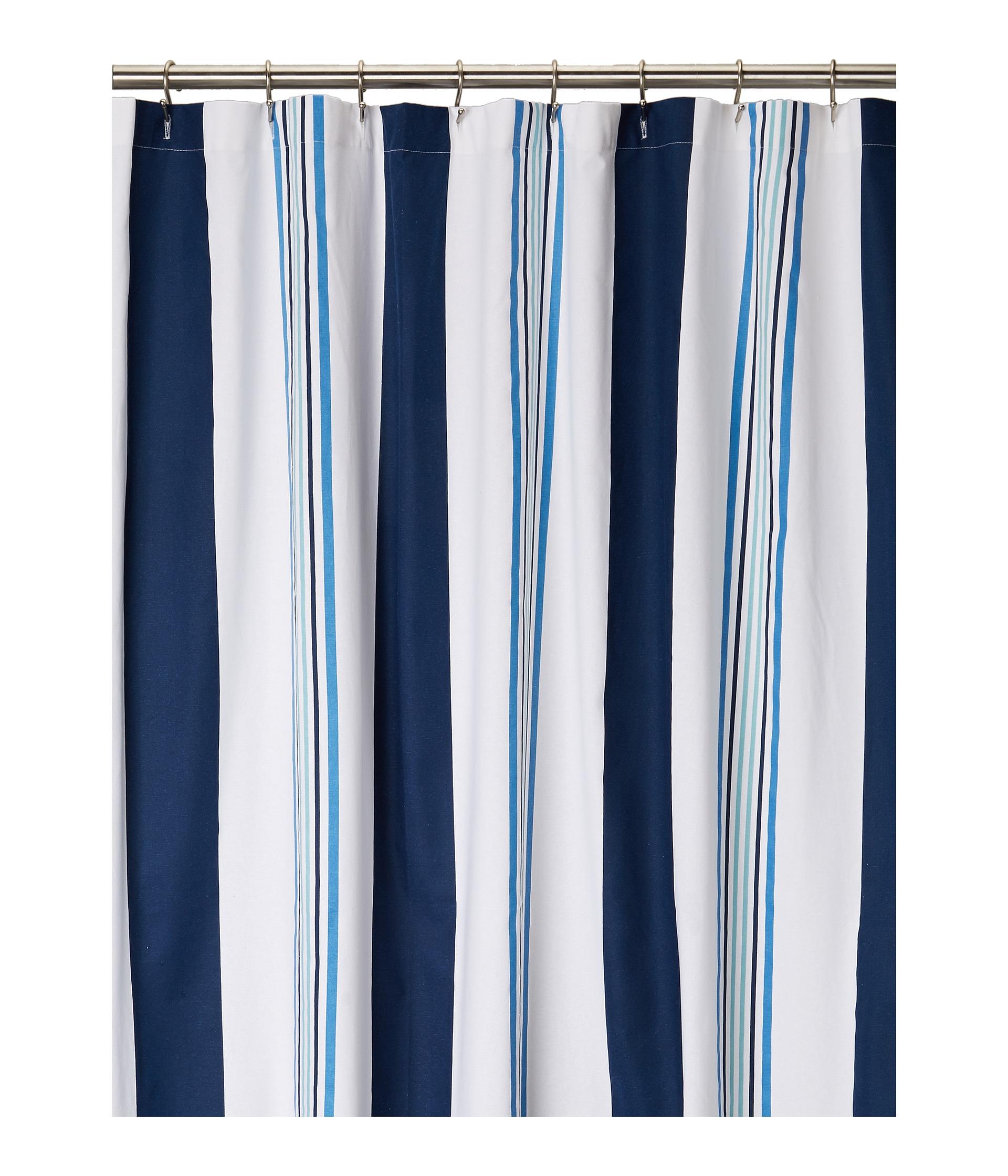 Kassatex Cabana Stripe Shower Curtain at Zappos