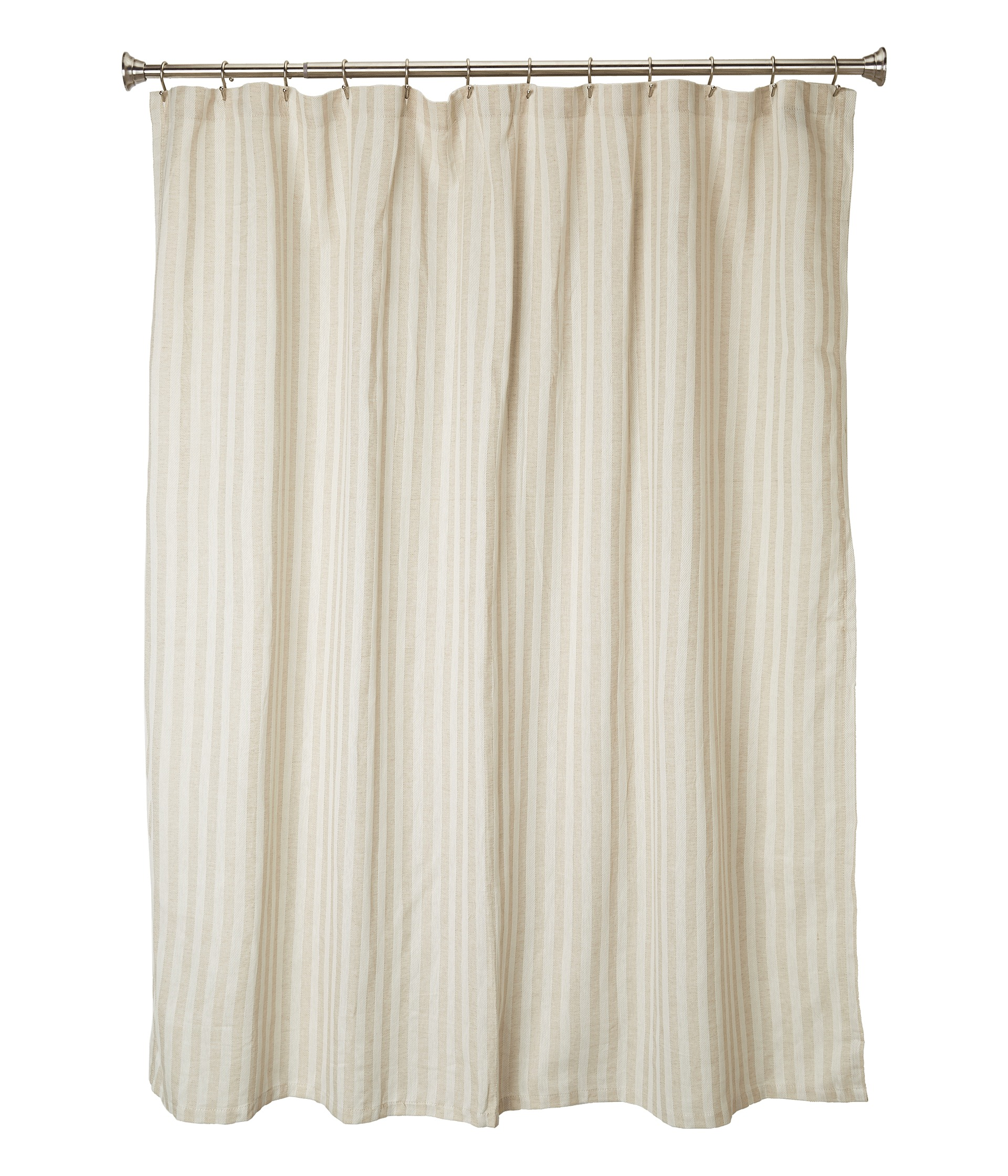 No Results For Kassatex Chevron Linen Shower Curtain Flax