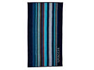 Kassatex - Spiaggia Ombre Beach Towel (Navy) - Home