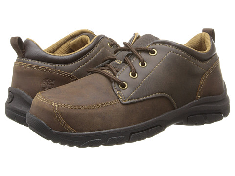 Timberland Kids Discovery Pass Oxford (Little Kid) - Brown