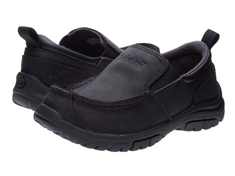Timberland Kids Discovery Pass Slip-On (Toddler/Little Kid) - Black