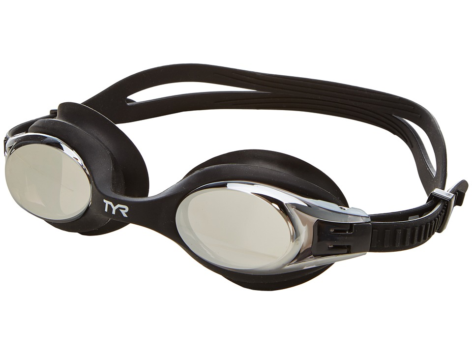 TYR Big Swimple Mirrored Goggles Smoke Water Goggles