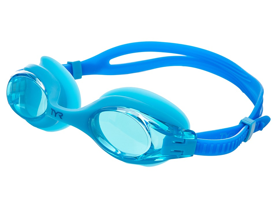 TYR Big Swimple Goggles Blue Water Goggles