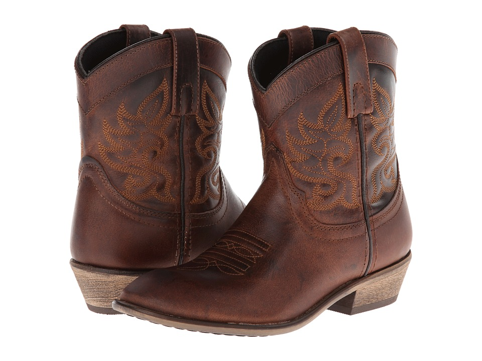 Dingo Willie (Brown) Cowboy Boots