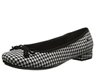 Hush Puppies - Annika Channing (Black/White Textile) - Footwear