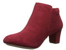 Hush Puppies - Corie Imagery (Dark Red Suede) - Footwear