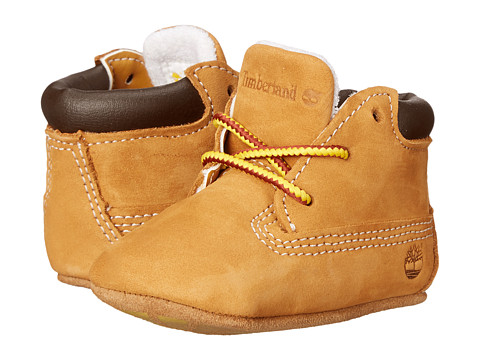 Timberland Kids Crib Bootie with Hat (Infant/Toddler) - Wheat