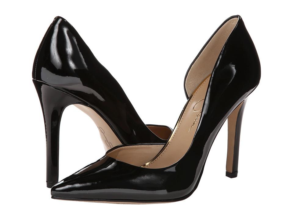 Jessica Simpson - Claudette (Black Patent) High Heels