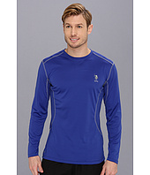 U.S. POLO ASSN. - Long Sleeve Performance Crewneck With Poly Micro Mesh Insert