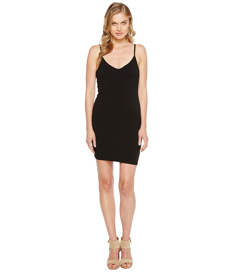 LAmade V Neck Tank Dress (Black) Women