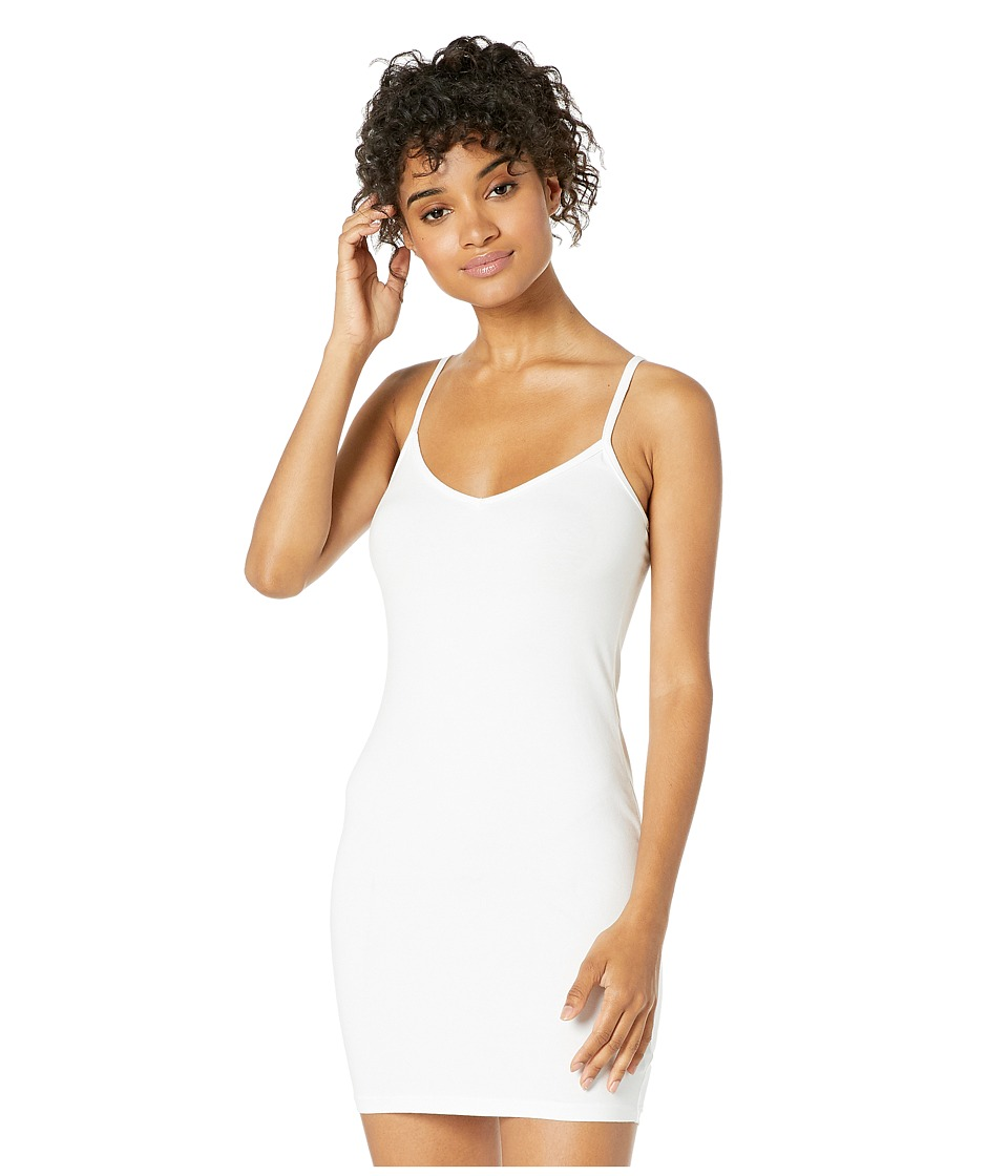 LAmade V Neck Tank Dress (White) Women