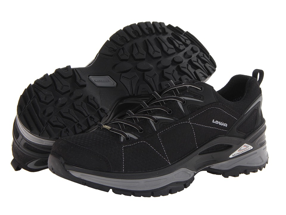 Lowa Ferrox GTX Lo Black/Grey Mens Shoes