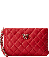 LOVE Moschino - Chain Strap Quilted Wristlet