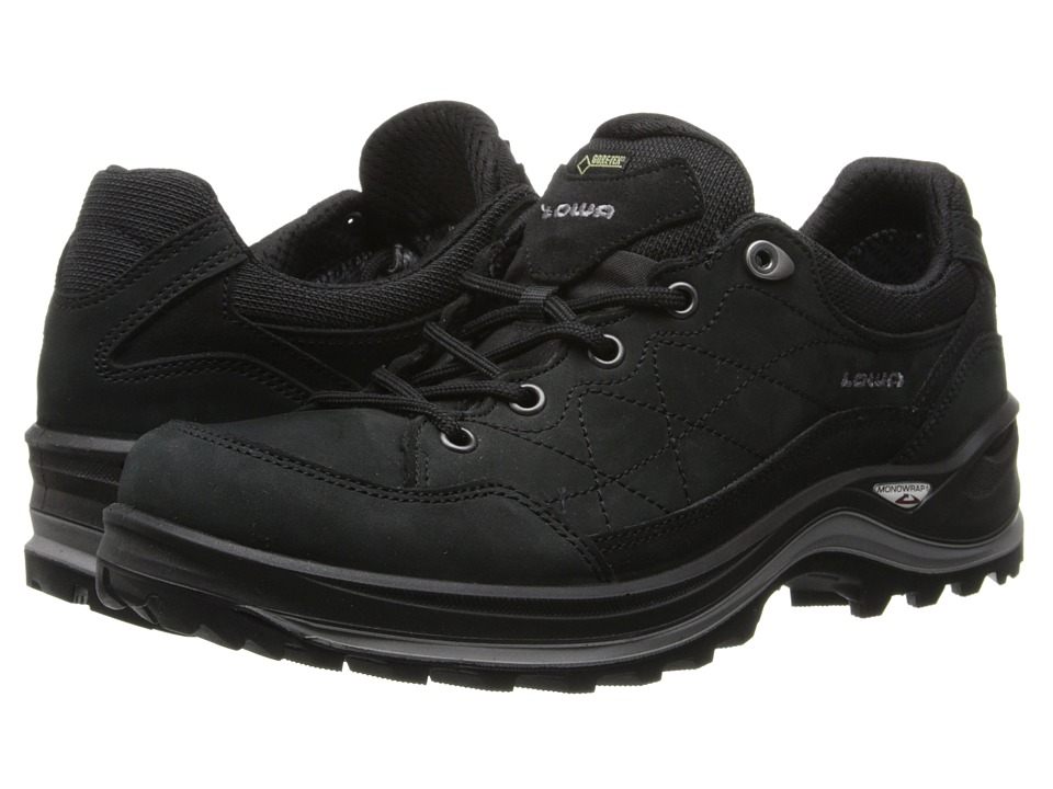Lowa Renegade III GTX(r) Lo WS (Black) Women's Shoes