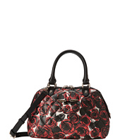 LOVE Moschino - Floral Print Quilted Satchel