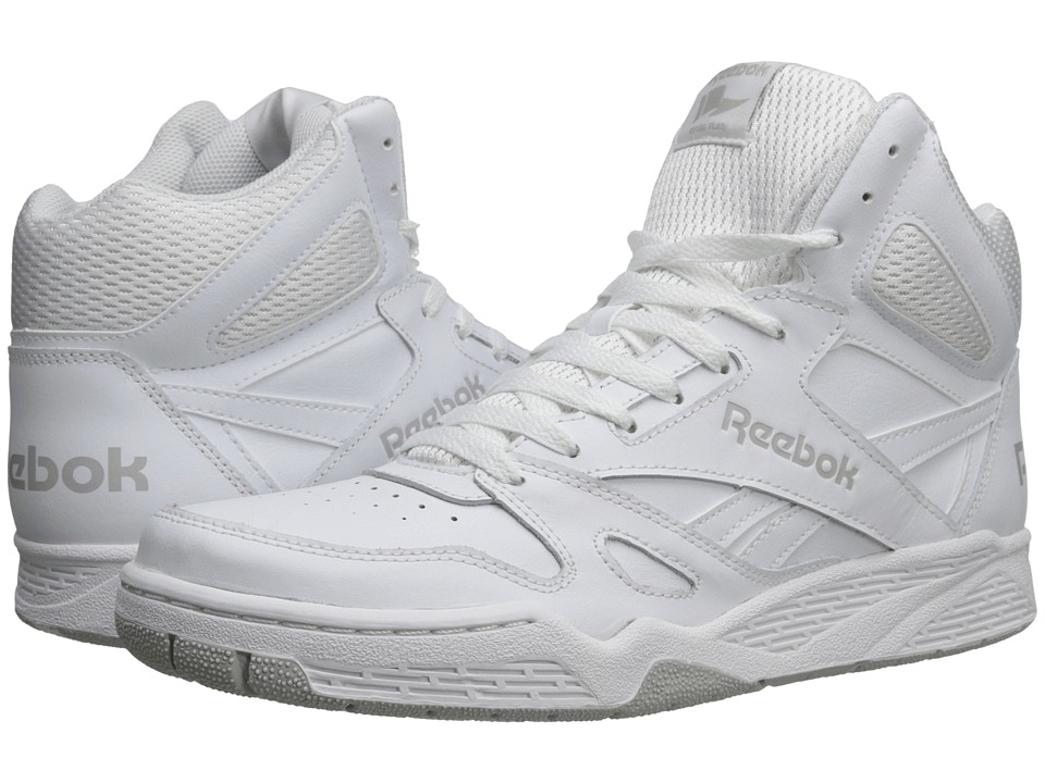 Reebok - Royal BB4500 Hi (White/Steel) Mens Basketball Shoes