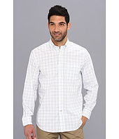 Nautica - L/S Windowpane Woven Shirt