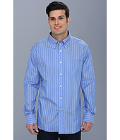 Nautica - Wrinkle Resistant Anchor Stripe Button Down Shirt