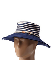 Sperry Top-Sider - Stripe Floppy Hat w/ Canvas Brim
