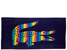 Lacoste - Rainbow Beach Towel (Blue) - Home