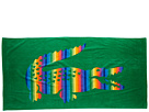 Lacoste - Rainbow Beach Towel (Green) - Home