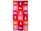 Lacoste - Crocodomino Beach Towel (Red) - Home