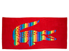 Lacoste - Rainbow Beach Towel (Red) - Home