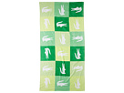 Lacoste - Crocodomino Beach Towel (Green) - Home