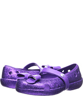 Crocs Kids - Keeley Flat Bow Charm Hi Glitter (Toddler/Little Kid)